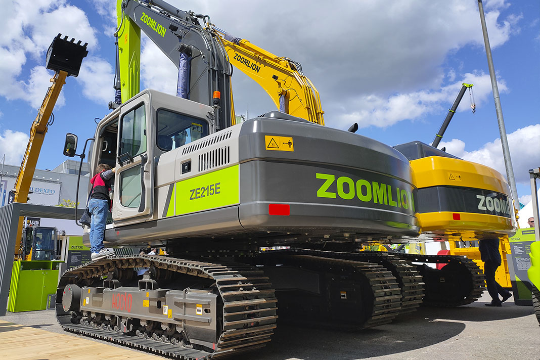 ZE215 Экскаватор Zoomlion