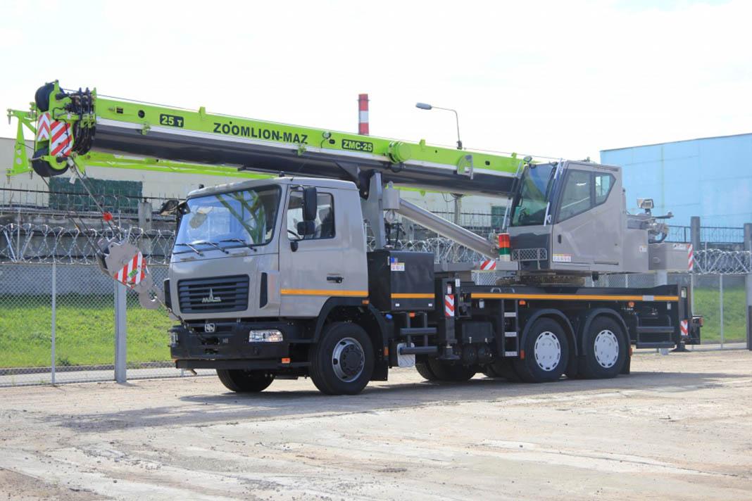 Автокран ZMC-25-1С Zoomlion МАЗ