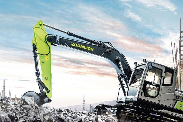 Экскаватор ZE135E-10 Zoomlion