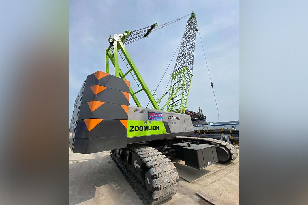 Гусеничный кран ZCC100H Zoomlion