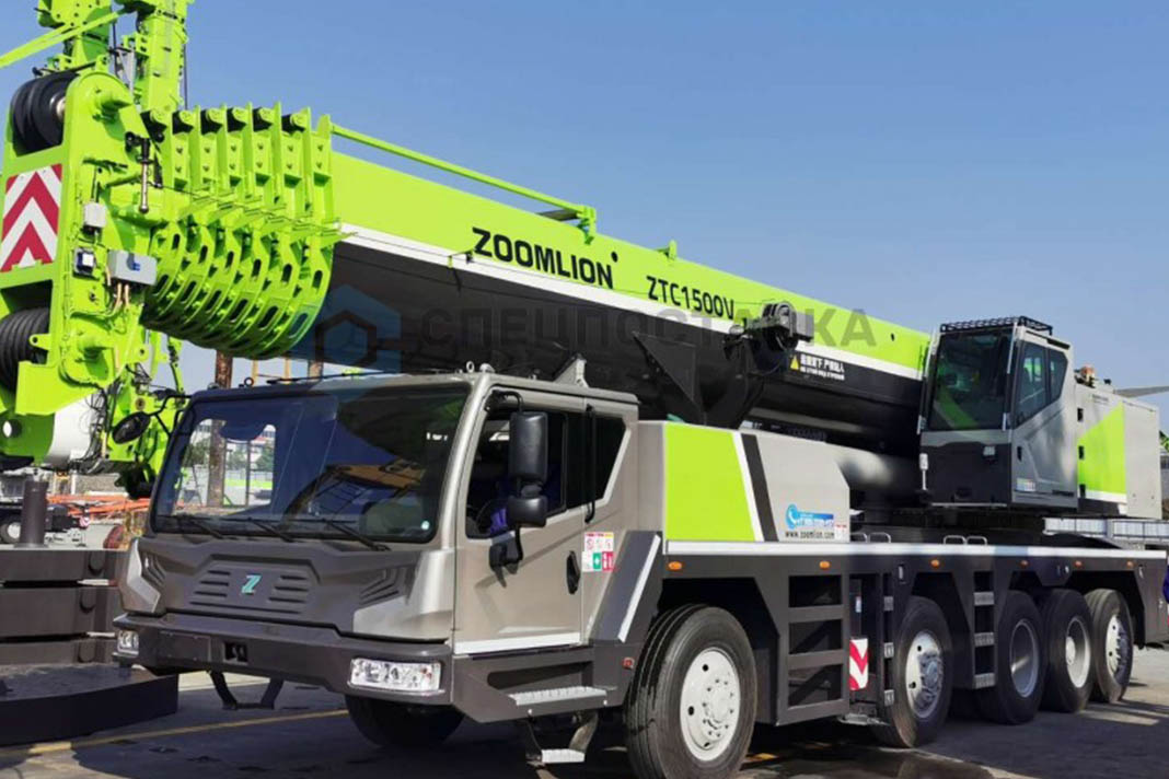 Автокран ZTC1500V Zoomlion