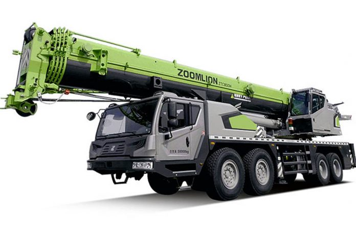 Автокран ZTC800V552.1T Zoomlion