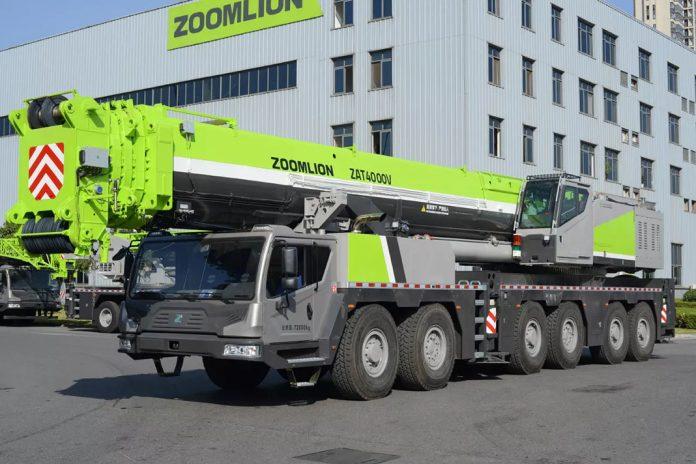 Полноприводный кран ZAT4500 Zoomlion