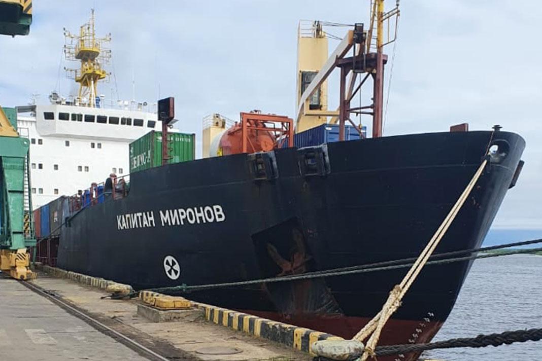QY55 на корабле
