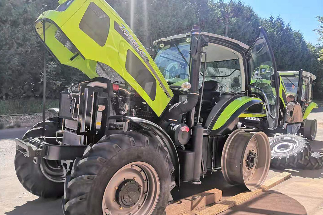 Сборка трактора