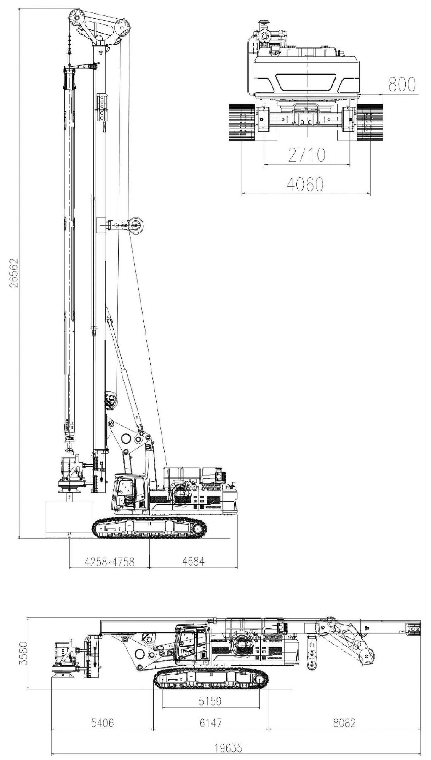 Технические характеристики роторной буровой установки Zoomlion ZR360L