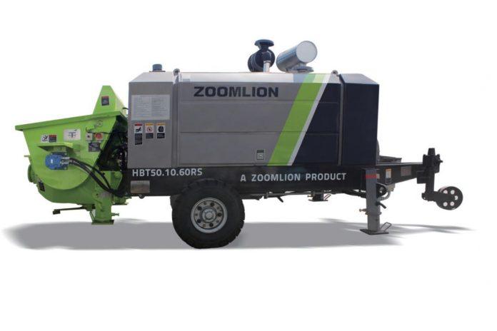 Стационарный бетононасос Zoomlion HBT50.10.60RS
