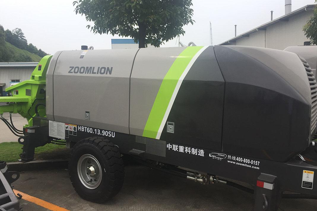 Стационарный бетононасос Zoomlion HBT60.13.90SU