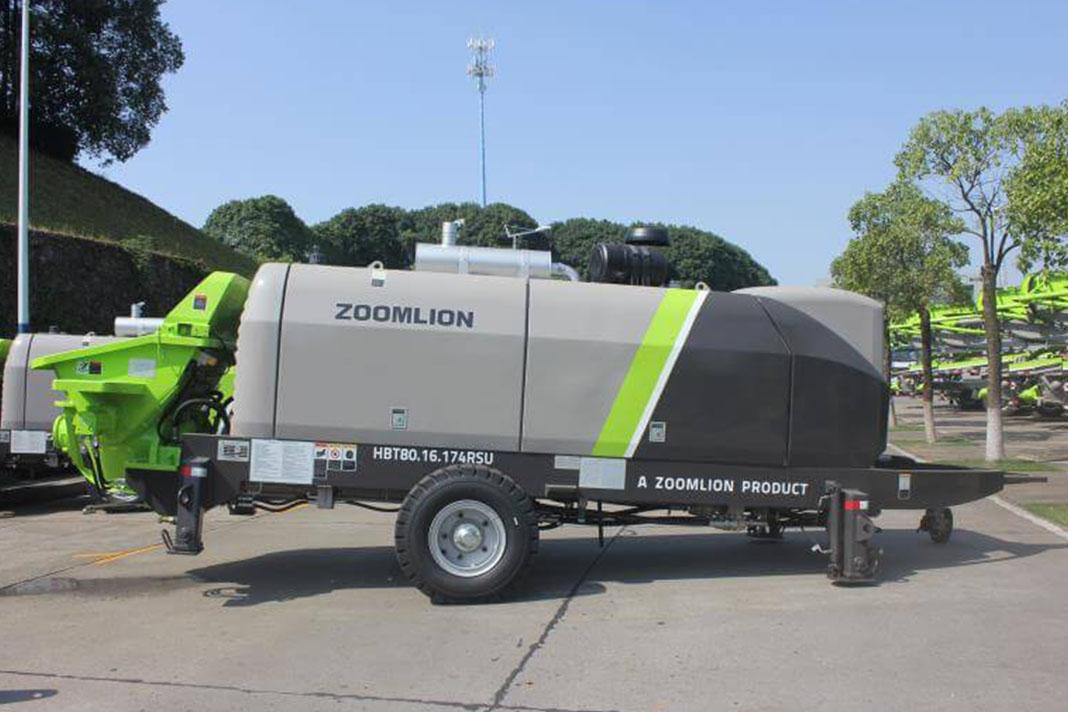 Стационарный бетононасос Zoomlion HBT80.16.174RSU