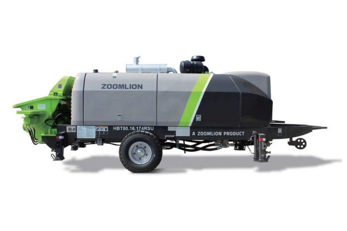 Стационарный бетононасос Zoomlion Zoomlion HBT80.16.174RSU